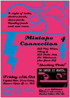Mixtape Connection Vol. 4 - Party Flyer