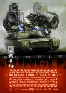 Rumble in the Jungle National Final