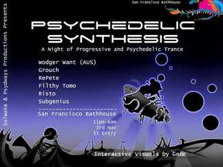 Psychedelic Synthesis