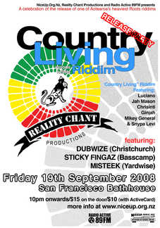 Country Living Riddim Release Party