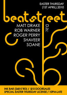 Beatstreet - Easter Thursday!