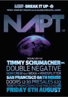 Break It Up feat. NAPT (UK), TIMMY SHUMACHER + More