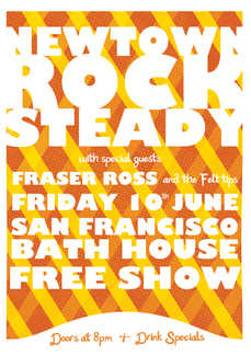 Newtown Rocksteady with Fraser Ross and the Felt Tips