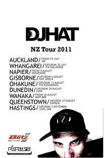 DJ Hat NZ Tour 2011