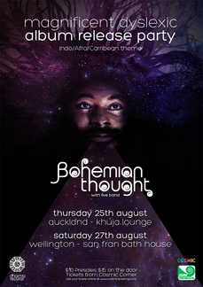 Dharma Records presents Bohemian Thought's 'Magnificent Dyslexic' Album Release