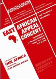 Red Cross Fundraiser - East African Appeal