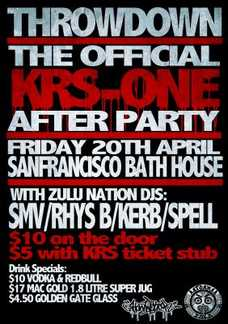 Official KRS ONE After-party