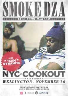 Smoke DZA (NYC) with Team Dynamite Bodega Wellington