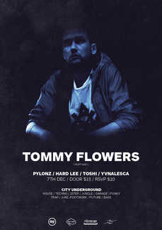 C/U presents TOMMY FLOWERS